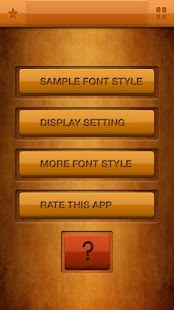 Zawgyi Design Galaxy Font- screenshot thumbnail
