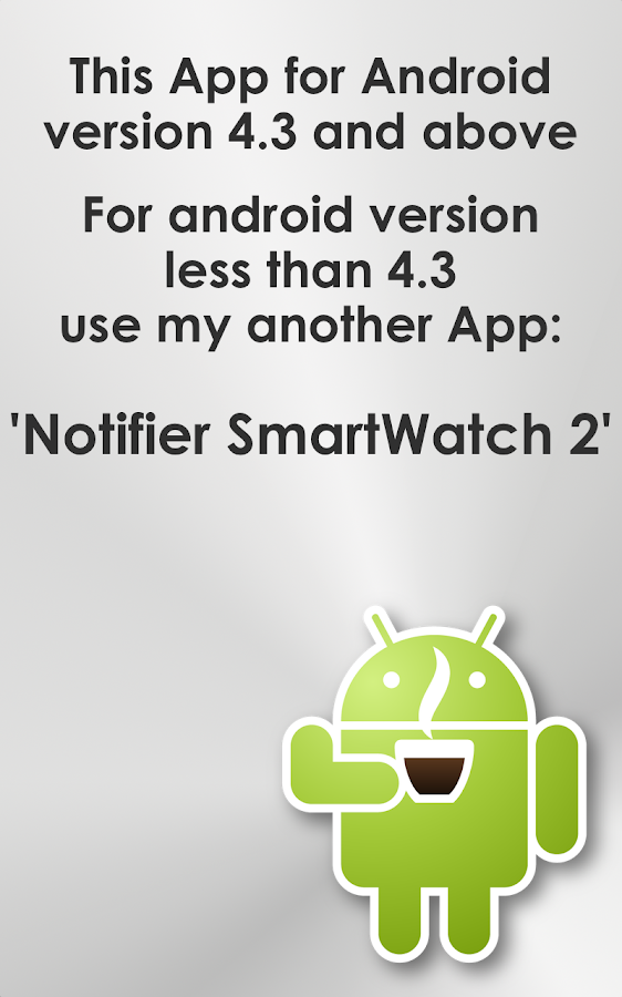 Notify for SmartWatch - screenshot