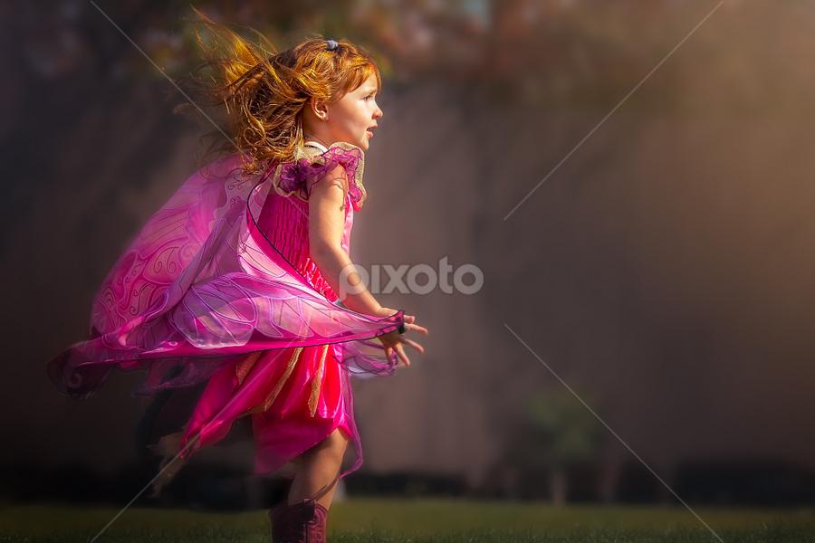 Fairy by Ken Bruce - Uncategorized All Uncategorized ( red, girl, fairy, costume, hair )