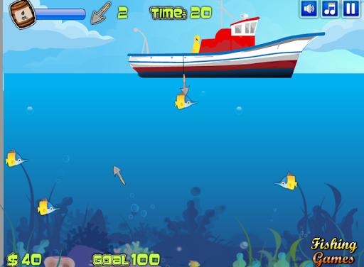เกมส์ตกปลาบนเรือ