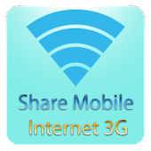 Share mobile Internet 3G