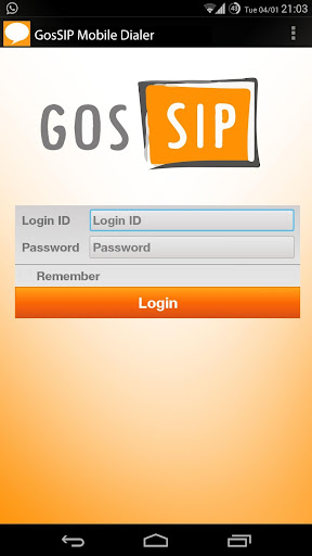 G729 Codec of GosSIP Dialer
