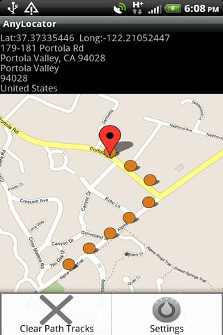 AnyLocator - screenshot