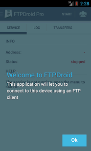 FTPDroid- screenshot thumbnail