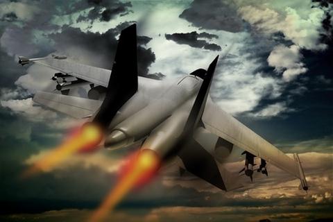 Thunder Jet Wallpaper