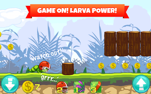 Crazy Larva Run