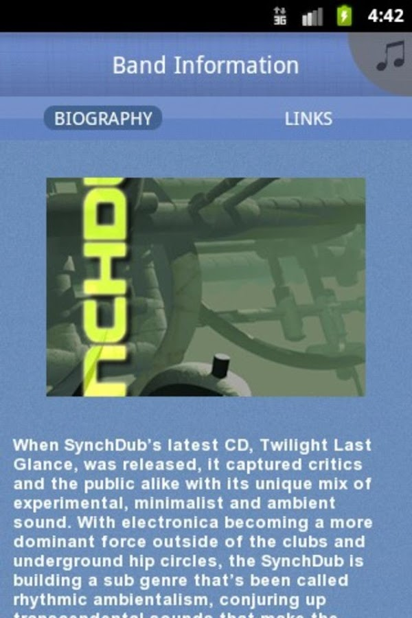SynchDub - screenshot