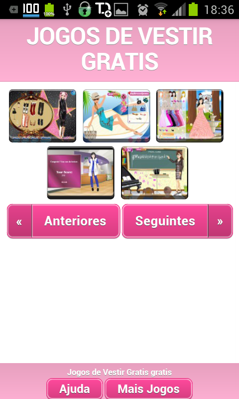 Jogos de Vestir Gratis - screenshot