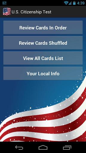 U.S. Citizenship Test 2015