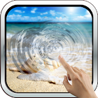 Magic Touch: Sea Shell Live Wallpaper icon