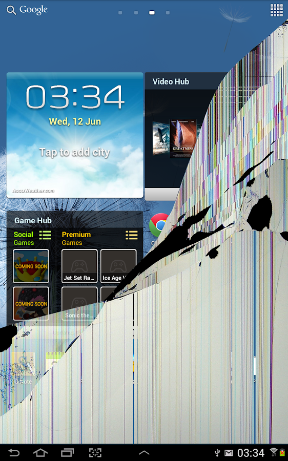 Crack Your Screen Prank- screenshot