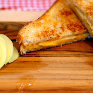Apple Cheddar Grilled Cheese.