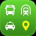 苏州行 - 打车、公交、地铁等出行功能的集成化应用 icon
