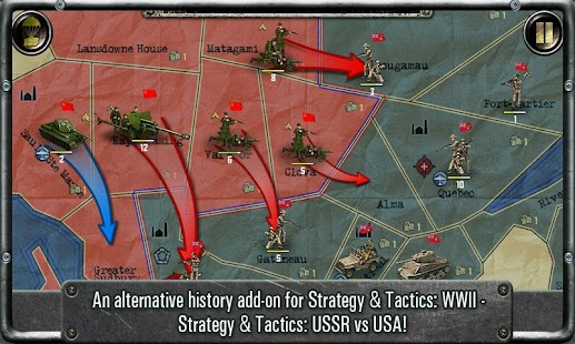 Strategy & Tactics:USSR vs USA- screenshot thumbnail