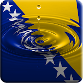 Bosna flag water effect LWP