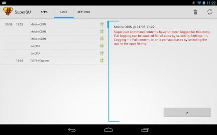SuperSU Pro Screenshot 15