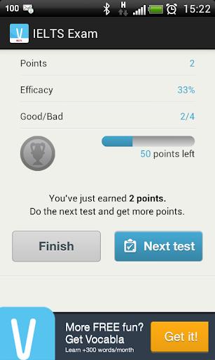 無料教育AppのIELTS試験:ボキャブラリー|記事Game