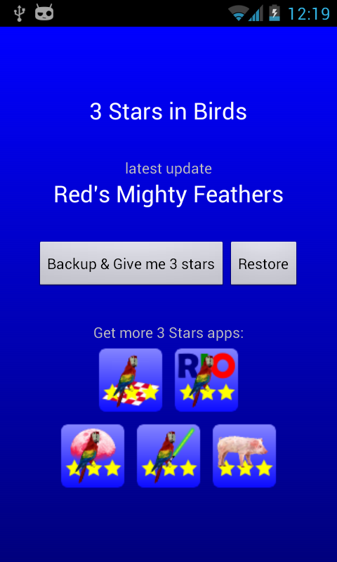 3 Stars in Birds - screenshot