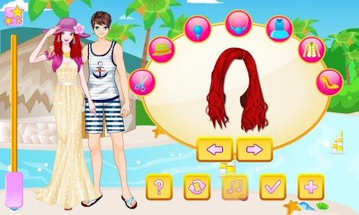 Stylish Honeymoon Dress Up - screenshot thumbnail