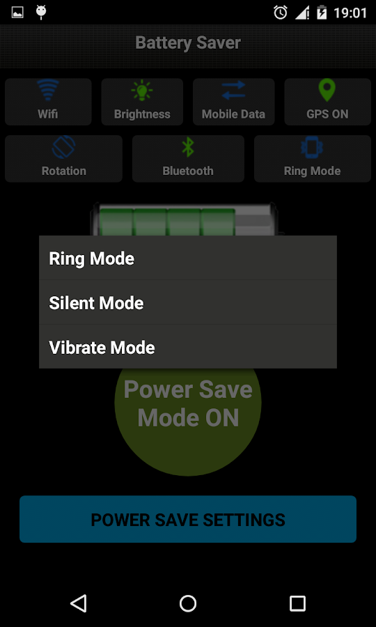 Battery Saver & Easy Settings- screenshot