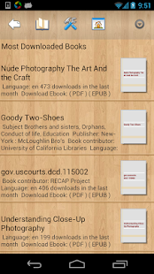 EBook Reader & Free ePub Books- screenshot thumbnail