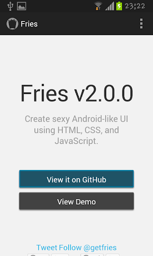 Fries 2.0 docs and examples