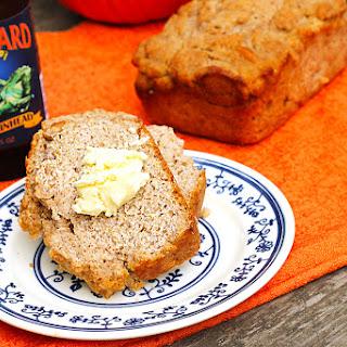 Healthier Pumpkin Beer Bread