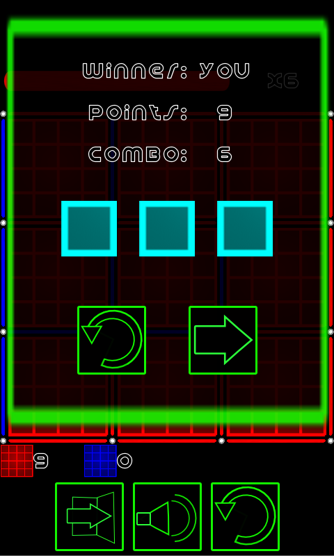 Dots and Boxes (Neon) - screenshot
