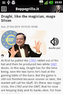 Grillo Blog - screenshot thumbnail
