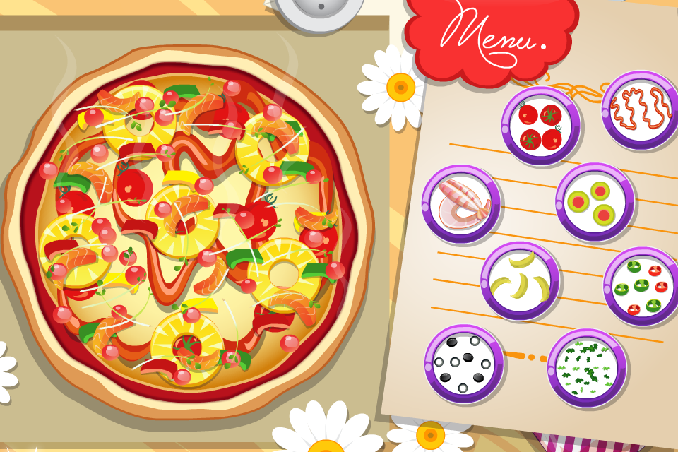 pizza cooking games - screenshot