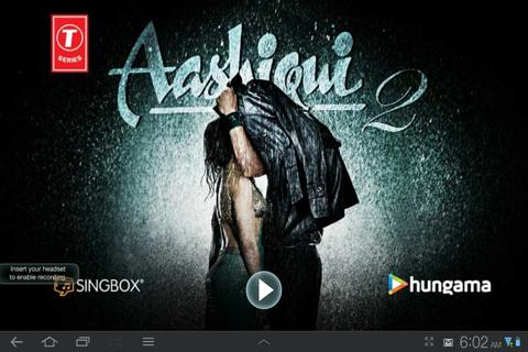 Aashiqui 2 songs - Karaoke - screenshot