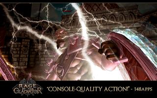 Screenshot of Rage of the Gladiator (Xperia)