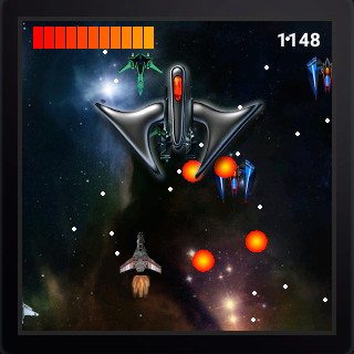 Space War (Android Wear)- screenshot