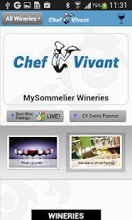 Free Chef Vivant MySommelier Basic APK