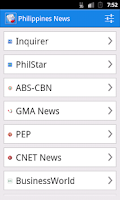 Screenshot of Philippines News