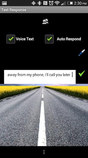 Text Response