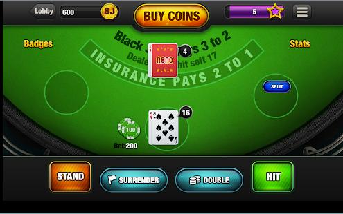 blackjack 21 free online game