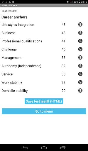 玩生產應用App|Career Tests PRO免費|APP試玩