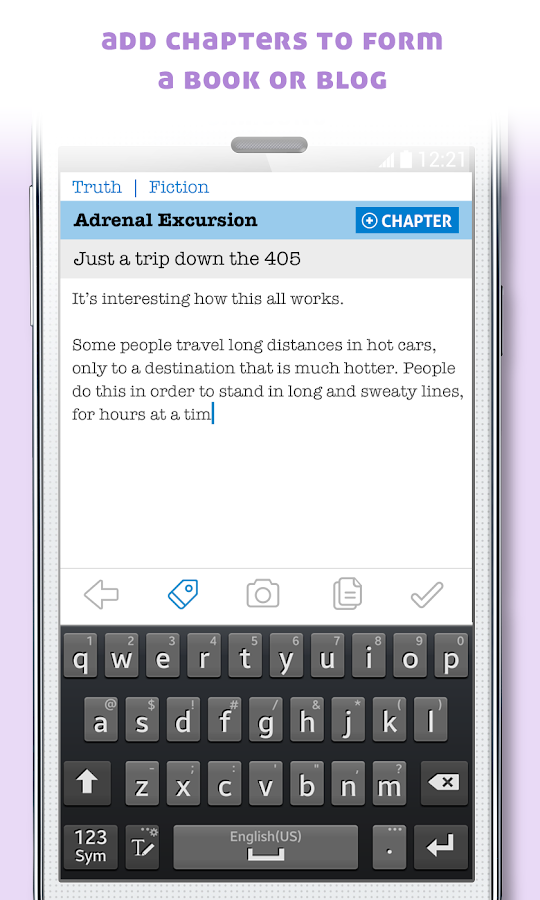 Penned - Read & Write a Story- screenshot