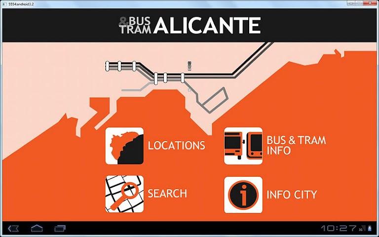 Screenshot 1 Alicante Bus And Tram