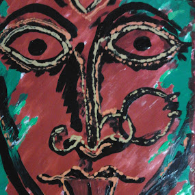 KALI MA by Soumitra Biswas - Drawing All Drawing ( mother )