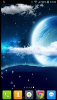 Screenshot of Wonderful Sky Live Wallpaper
