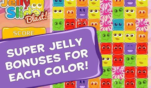 【免費策略App】Jelly Slide Blast-APP點子