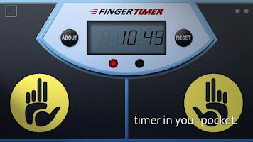 Screenshot of Finger Timer