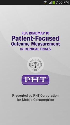 FDA Roadmap by PHT
