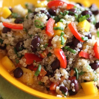Quinoa Salad with Tangerine Vinaigrette