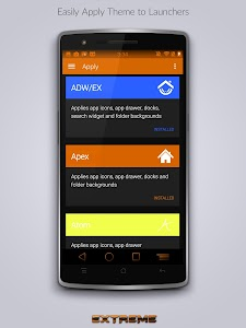 JB Extreme Launch Theme Orange v2.6