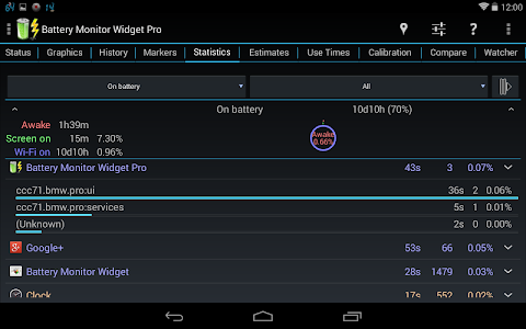 Battery Monitor Widget Pro v3.0