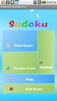 Screenshot of Ultimate Sudoku Free