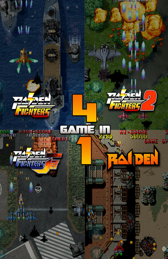 Raiden Legacy - screenshot